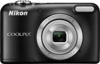 Фотоаппарат Nikon Coolpix L29 (Black) - вид спереди