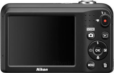 Компактный фотоаппарат Nikon Coolpix L29 (Black) - вид сзади