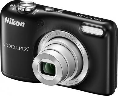 Компактный фотоаппарат Nikon Coolpix L29 (Black) - общий вид