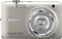 Фотоаппарат Nikon Coolpix S2800 (Silver) -