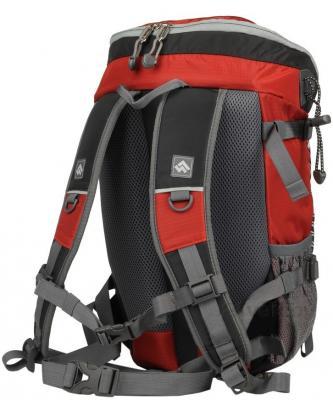 Рюкзак туристический Alpinus Climbing-12 (Red) - вид сзади