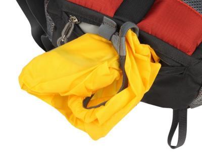 Рюкзак туристический Alpinus Climbing-12 (Red) - накидка от дождя