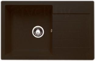 Мойка кухонная Granicom G018-02 (шоколад) - реальный цвет модели может немного отличаться от цвета, представленного на фото