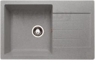 Мойка кухонная Granicom G018-05 (серебристый) - реальный цвет модели может немного отличаться от цвета, представленного на фото