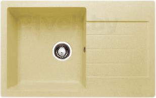 Мойка кухонная Granicom G018-06 (шампань) - реальный цвет модели может немного отличаться от цвета, представленного на фото