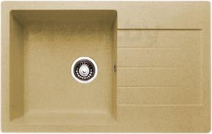 Мойка кухонная Granicom G018-07 (сахара) - реальный цвет модели может немного отличаться от цвета, представленного на фото