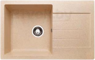 Мойка кухонная Granicom G018-09 (персик) - реальный цвет модели может немного отличаться от цвета, представленного на фото