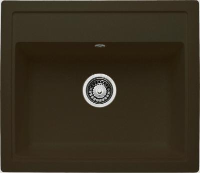 Мойка кухонная Granicom G019-02 (шоколад) - реальный цвет модели может немного отличаться от цвета, представленного на фото