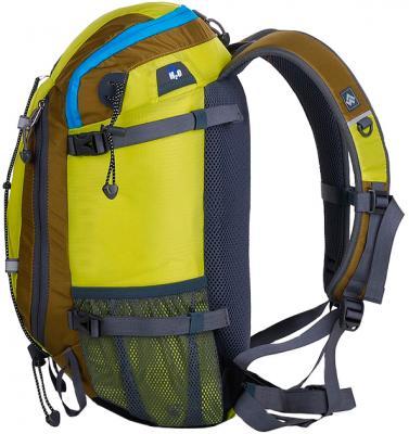 Рюкзак туристический Alpinus Climbing-20 (Yellow) - вид сбоку