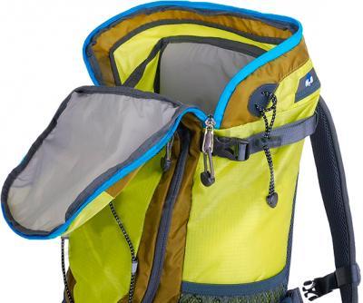 Рюкзак туристический Alpinus Climbing-20 (Yellow) - основное отделение рюкзака