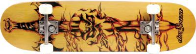 Скейтборд Arctix daSouza CR3108SC (Yellow) - общий вид