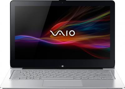 Ноутбук Sony Vaio Fit 13A (SVF13N2J2RS) - фронтальный вид