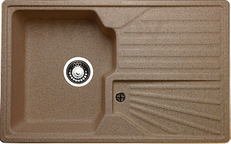 Мойка кухонная Granicom G014-03 (бренди) - реальный цвет модели может немного отличаться от цвета, представленного на фото