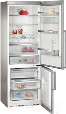 Холодильник с морозильником Siemens KG49NAI22R - в открытом виде