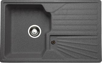 Мойка кухонная Granicom G014-04 (серый) - реальный цвет модели может немного отличаться от цвета, представленного на фото