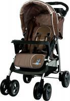 Детская прогулочная коляска Caretero Monaco (Brown) -