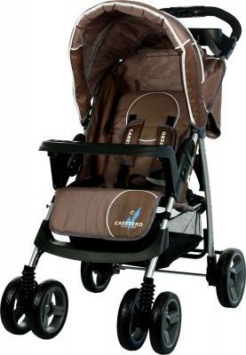 Детская прогулочная коляска Caretero Monaco (Brown) - общий вид