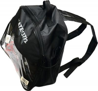 Роликовые коньки Relmax GF-137F-2 (M, черно-белый) - упаковка в виде рюкзака