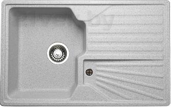 Мойка кухонная Granicom G014-05 (серебристый) - реальный цвет модели может немного отличаться от цвета, представленного на фото
