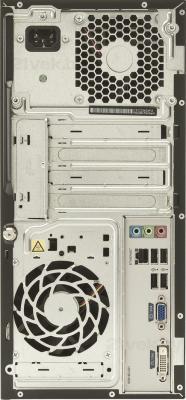 Готовое рабочее место HP 3500MT (D5S16EA) - системный блок, вид сзади