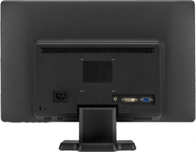 Готовое рабочее место HP 3500MT (D5S16EA) - монитор, вид сзади