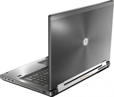 Ноутбук HP EliteBook 8770w (LY590EA) - вид сзади