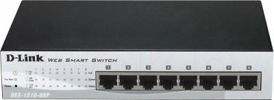 Коммутатор D-Link DES-1210-08P - общий вид