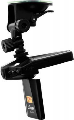 Автомобильный видеорегистратор Globex HQS-205B - вид сбоку