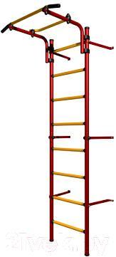 Детский спортивный комплекс Romana Комета Next Light ДСКМ-2С-8.06.Г1.490.11-01 (красный/желтый) - общий вид