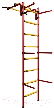 Детский спортивный комплекс Romana Комета Next Light ДСКМ-2С-8.06.Г1.490.11-01 (красный/желтый)