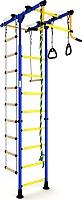 Детский спортивный комплекс Romana Комета-1 ДСКМ-2-8.06.Т.490.01-08 (синий/желтый) -