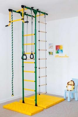 Детский спортивный комплекс Romana Комета-1 ДСКМ-2-8.06.Т.490.01-08 (синий/желтый)
