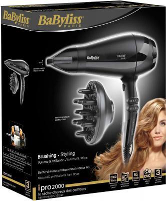 Профессиональный фен BaByliss 6634E - упаковка