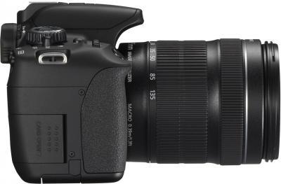 Зеркальный фотоаппарат Canon EOS 650D Kit 18-55mm III - вид сбоку
