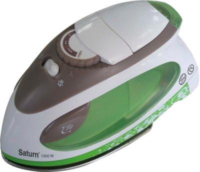 Дорожный утюг Saturn ST-CC0220 (зеленый) - общий вид