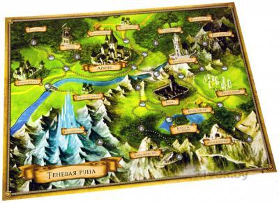 Настольная игра Мир Хобби Descent. Странствия во Тьме (вторая редакция) - игровая карта