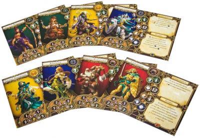 Настольная игра Мир Хобби Descent. Странствия во Тьме (вторая редакция) - игровые карточки