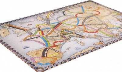 Настольная игра Мир Хобби Билет на поезд: Европа / Ticket to Ride: Европа 1032 (3-е русское издание) - игровое поле
