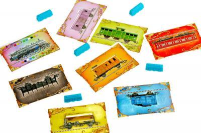 Настольная игра Мир Хобби Билет на поезд: Европа / Ticket to Ride: Европа 1032 (3-е русское издание) - игровые карточки