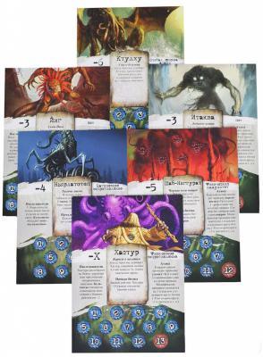 Настольная игра Мир Хобби Ужас Аркхэма 1012 (новая версия) - игровые карточки