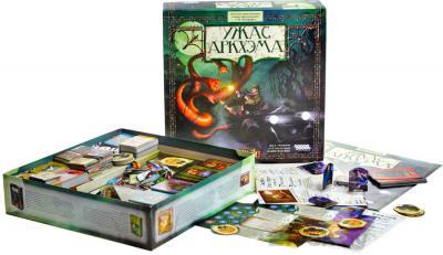 Настольная игра Мир Хобби Ужас Аркхэма 1012 (новая версия) - комплект игры