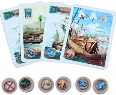 Настольная игра Asmodee Новый Свет / Mundus Novus - комплект игры