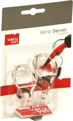 Набор каплеуловителей VacuVin WineSaver Crystal 1854060 - общий вид