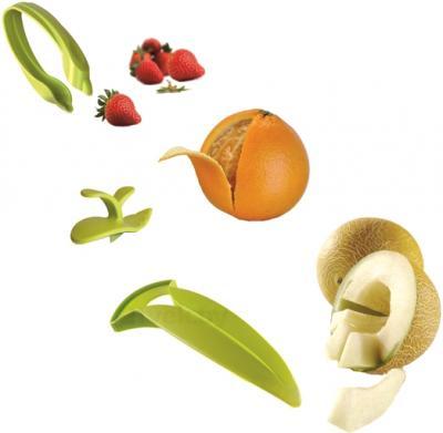 Прибор для очистки VacuVin Fruit Essentials 4890660 - три прибора
