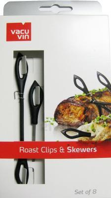 Набор кухонных приборов VacuVin Roast Clips & Skewers 5560460 - в упаковке