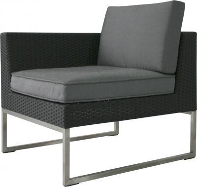 Кресло садовое Garden4you Steel 13621 (черный) - общий вид