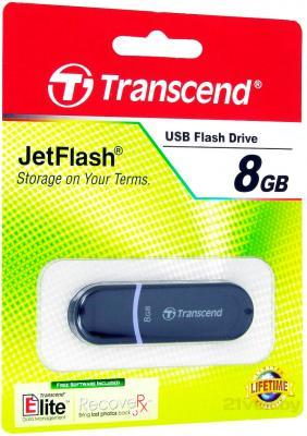 Usb flash накопитель Transcend JetFlash 300 8 Gb (TS8GJF300) - в упаковке