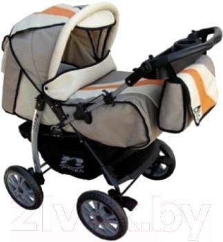 Детская универсальная коляска Anmar Rosse Golden (Gray) - общий вид