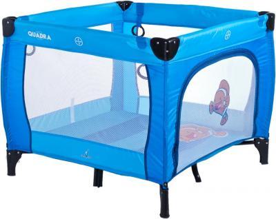 Игровой манеж Caretero Quadra (Blue) - общий вид