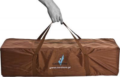Игровой манеж Caretero Quadra (Brown) - сумка для транспортировки